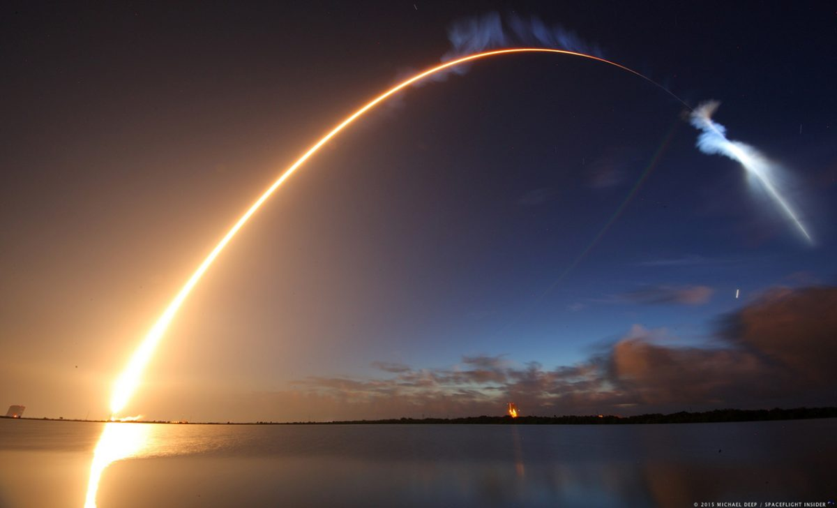 Brevard County ULA Launch by Michael Deep